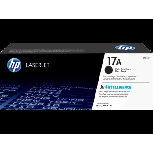 Toner HP 17A Preto (CF217A) para LaserJet Pro M102w, M130fw e M130fn