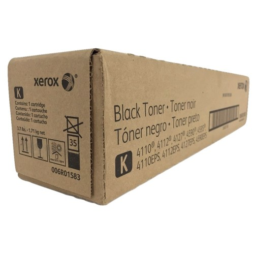 Toner Xerox 4110, 4112, 4127, 4590, 4595 Preto 006R01583/6R1583