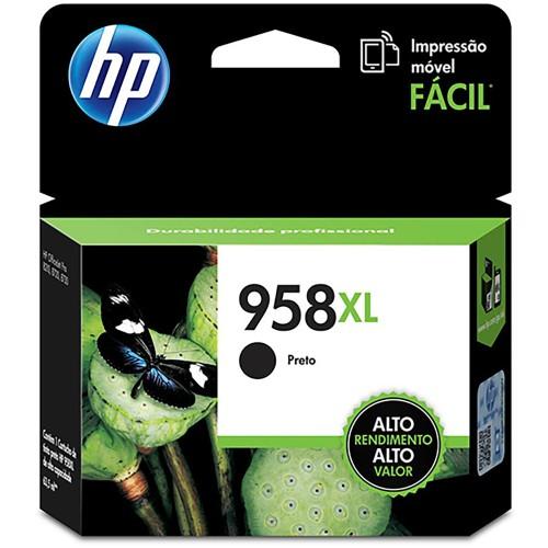 Cartucho HP 958XL preto L0R41AL HP CX 1 UN