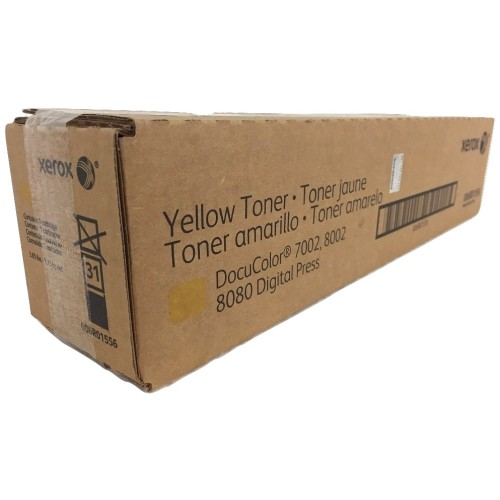 Toner Xerox Docucolor 7002, 8002, 8080 Digital Press Amarelo 006R01556/6R1556