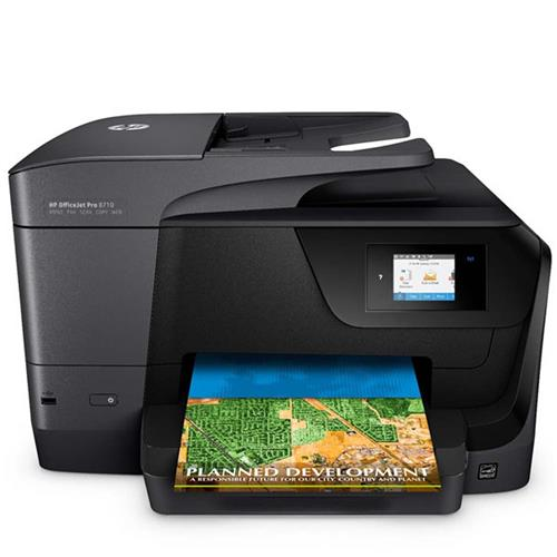 Impressora Multifuncional HP OfficeJet Pro 8710 All-in-One - Copiadora e Scanner