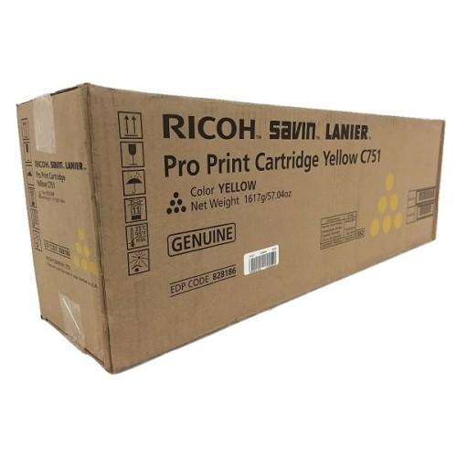 Toner Ricoh 828186 Amarelo p/ C751