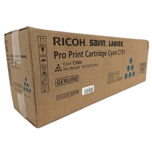 Toner Ricoh 828188 Cyan p/ C751