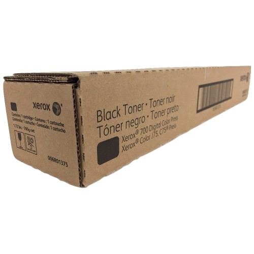 Toner Xerox 700 Digital Color Press, Color J75, C75 Press Preto 6R01375/6R1375